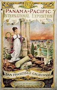 Affiche de l'exposition Panama Pacific de 1915