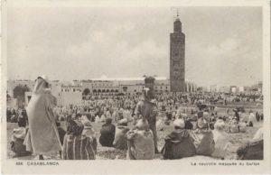 Carte postale de Xavier Bernard au Maroc