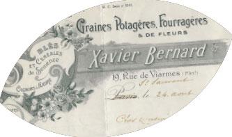 Graines Xavier Bernard