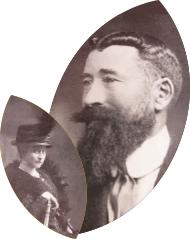 Médaillon Xavier Bernard et son épouse